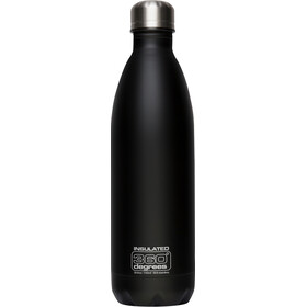360° degrees Soda Insulated Drinkfles 550ml zwart
